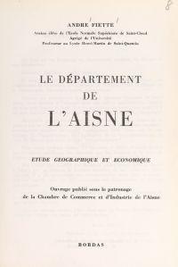 Le département de l'Aisne