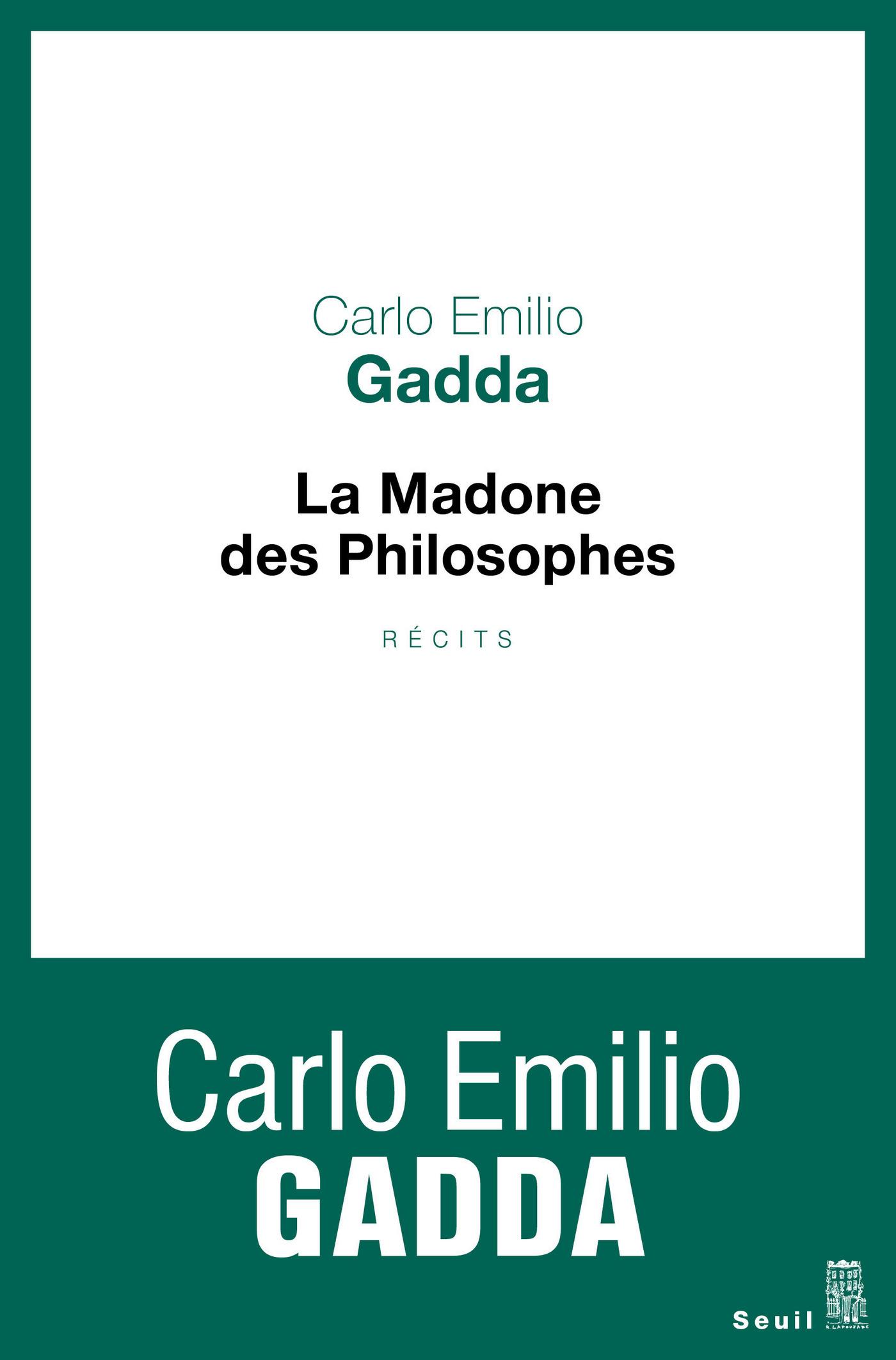 La Madone des philosophes. ...