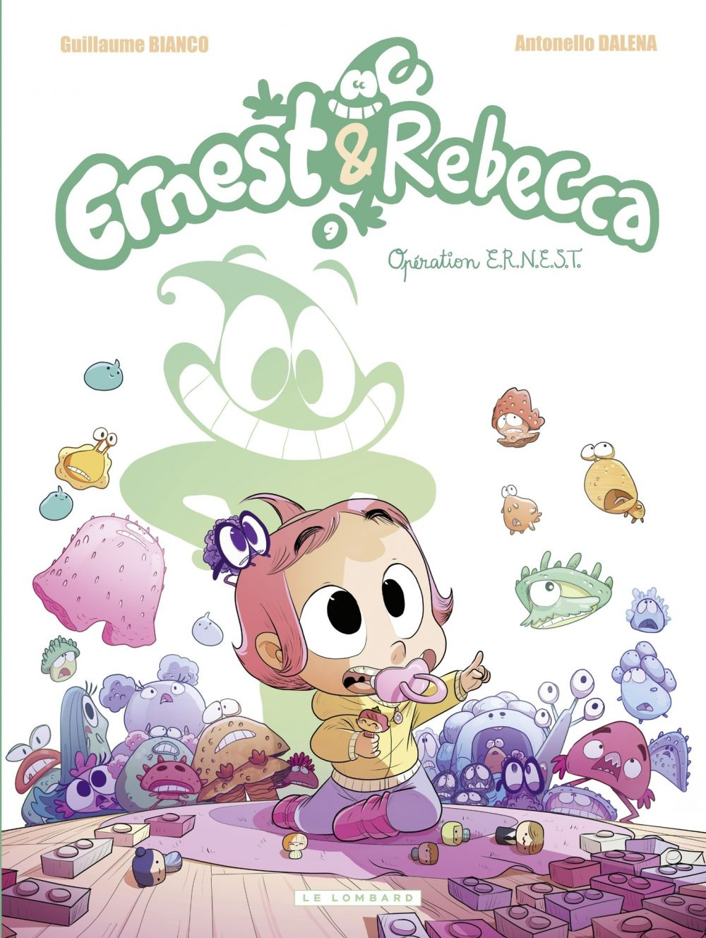 Ernest & Rebecca - tome 9 - Opération E.R.N.E.S.T. | Dalena, . Illustrateur