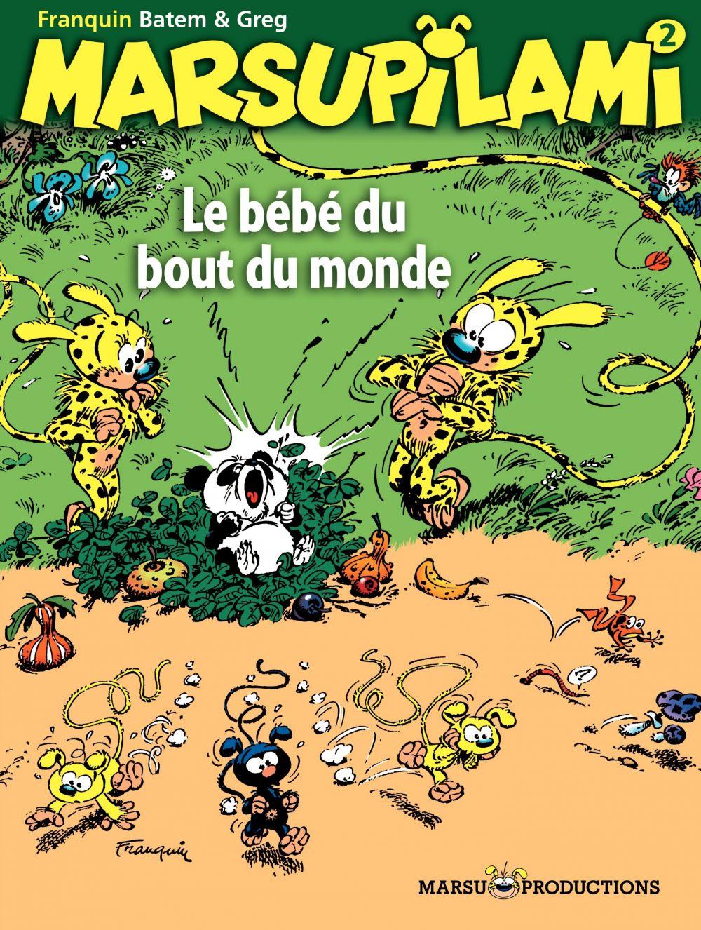 Marsupilami - Tome 2 - Le bébé du bout du monde | Batem, . Illustrateur