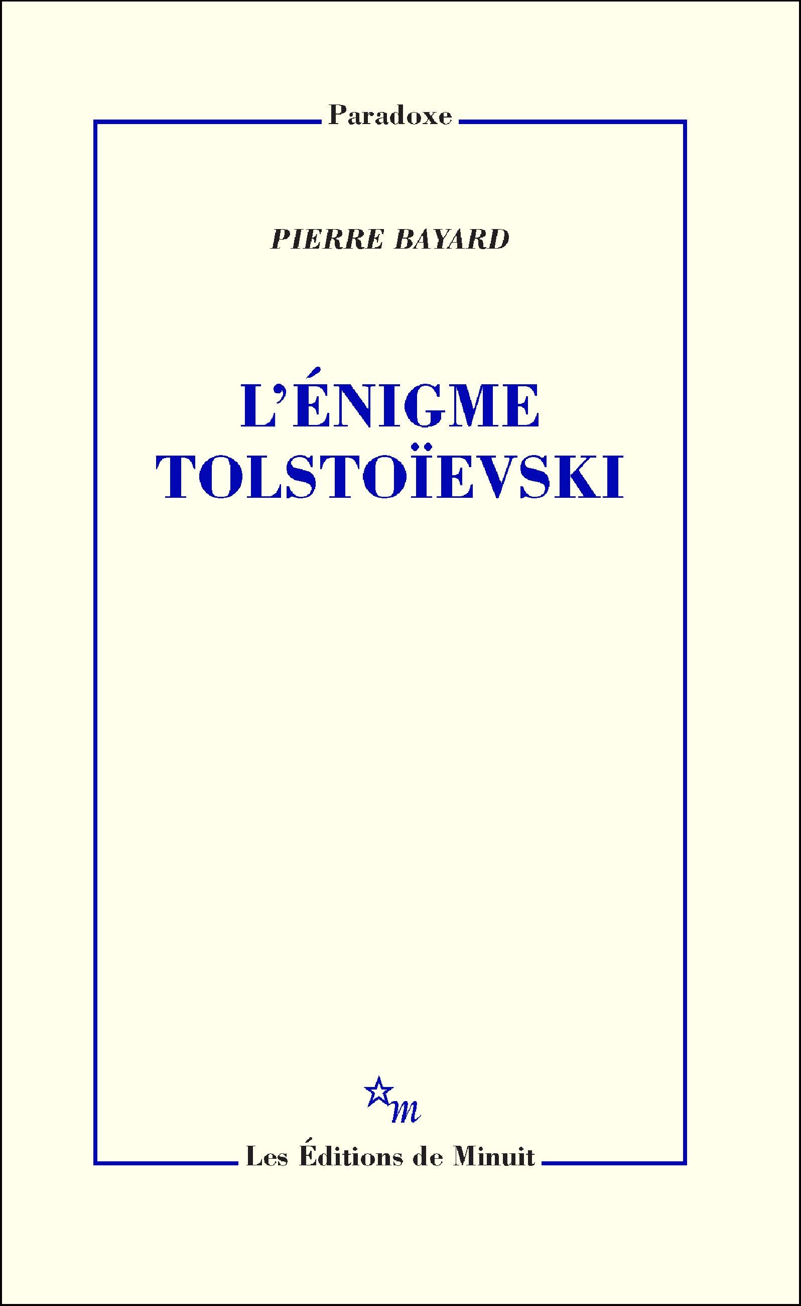 L'Énigme Tolstoïevski