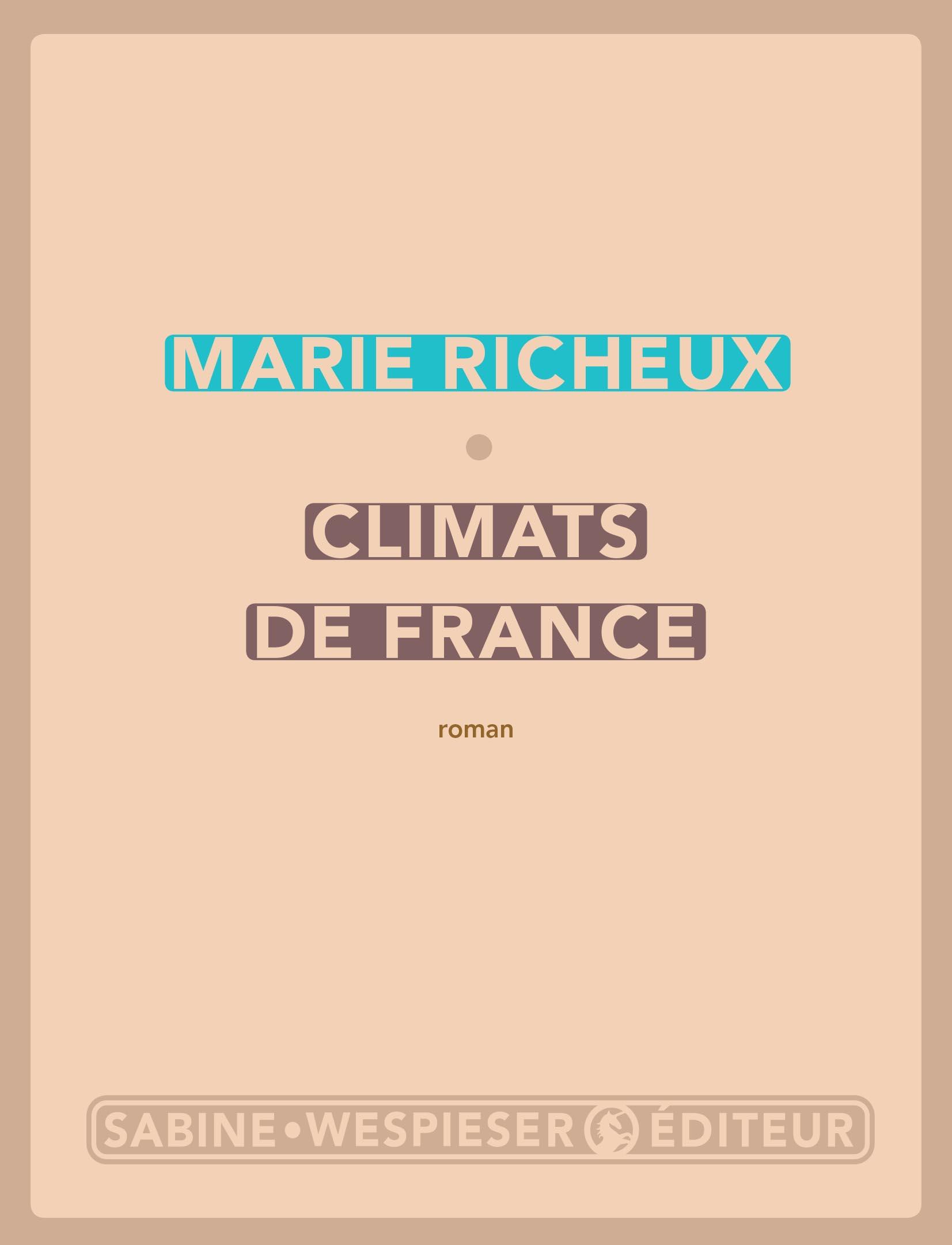 Climats de France | Richeux, Marie