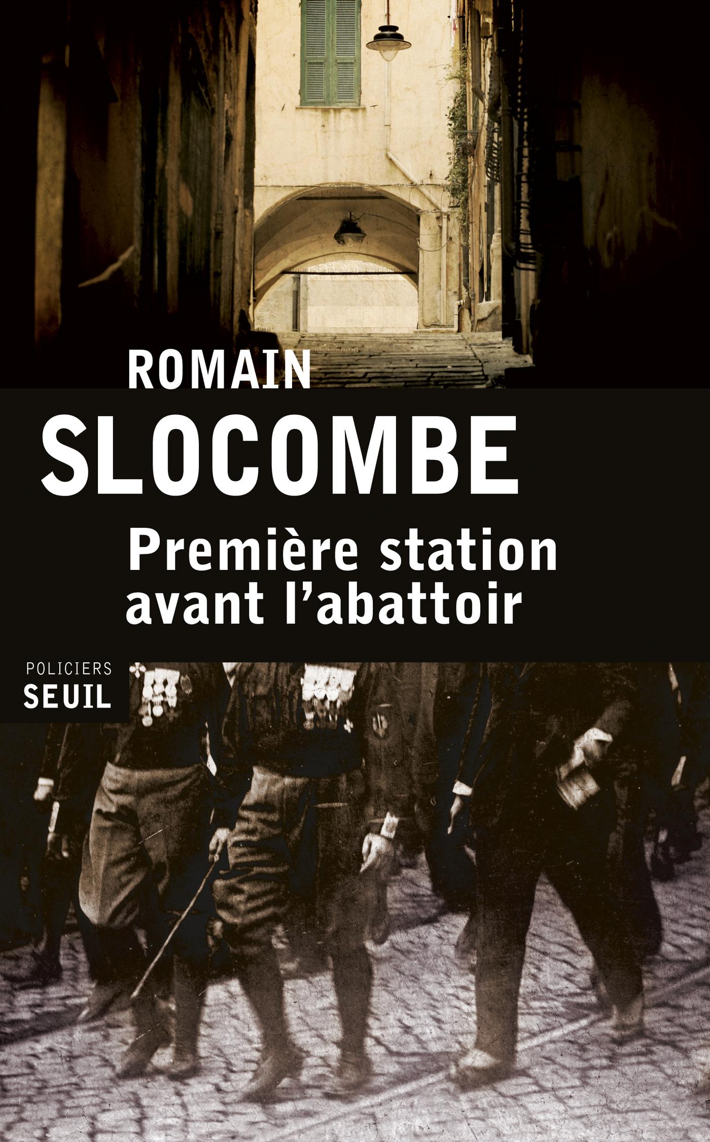Première station avant l'abattoir | Slocombe, Romain